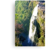 Waterfalls, South Africa Canvas Print