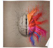 The Creative Brain Poster