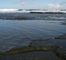 Bar Beach Rocks by Chookie