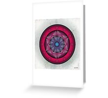 Mandala No. 24 Greeting Card