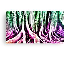 Psychedelic Forest Canvas Print