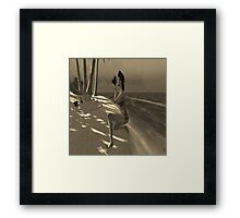 Beach Photographer  Framed Print