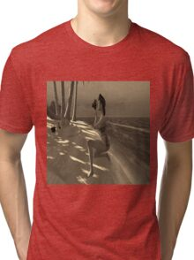 Beach Photographer  Tri-blend T-Shirt