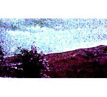 Purple Landscape Photographic Print