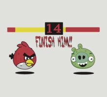 Angry Birds Vs Mortal Kombat by ThunderArtwork