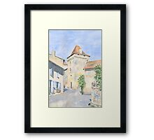 Le Vieux Château, Varaignes, France Framed Print