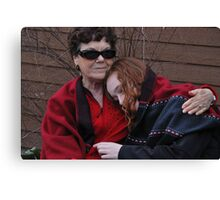 The Warmth of Grandmotherly Love Canvas Print