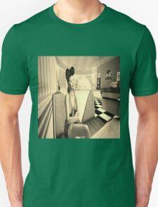 Retro diner girl Unisex T-Shirt
