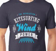 Kitesurfing Wind Power Extreme Sport Unisex T-Shirt