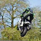 Kawasaki 1000 ZXR jump by Paul Collin