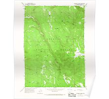 USGS Topo Map Oregon Coffeepot Creek 279385 1966 24000 Poster