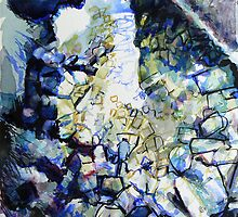 Rocks and Reflections 1 by Richard Sunderland