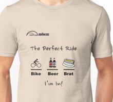 Cycling T Shirt - The Perfect Ride Unisex T-Shirt