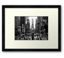 New York, Times Square  Framed Print