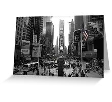 New York, Times Square  Greeting Card