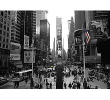 New York, Times Square  Photographic Print