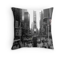 New York, Times Square  Throw Pillow