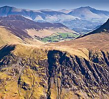 Goat Crag & Buttermere Moss, Cumbria. UK by David Lewins