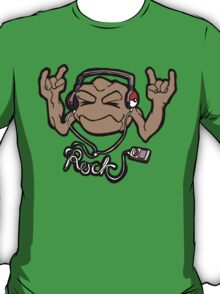 Geodude Loves Rock Music! T-Shirt