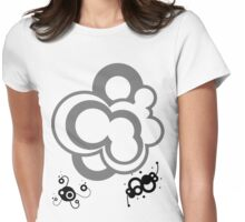 Techno Bubble Womens Fitted T-Shirt