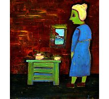 the little old woman Photographic Print