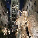Christmas at Rockefeller Center, New York by lenspiro