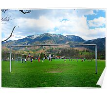 Cold Soccer on the Mountains Poster