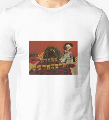 "Vintage Toys say ""Merry Christmas"" Unisex T-Shirt"
