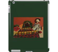 "Vintage Toys say ""Merry Christmas"" iPad Case/Skin"