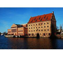 Filharmonia and hotel Photographic Print