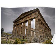 Il tempio di Segesta Poster