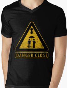 Caution Danger Close Sign T-Shirt