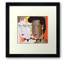 Girls of the world...... Framed Print