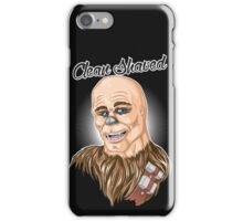 Clean shaved iPhone Case/Skin