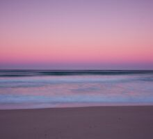Sunrise, Coorong beach, South Australia by Neville Jones