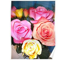 Easter Roses Poster