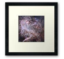 Sacred Geometry Universe Framed Print