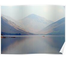 Wastwater Haze Poster