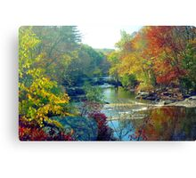 Autumn Foliage in Connecticut Canvas Print