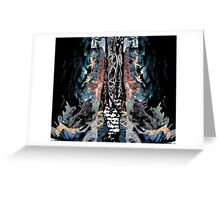 Grungy Forest Greeting Card