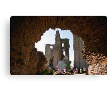 Corfe Castle Arch Canvas Print