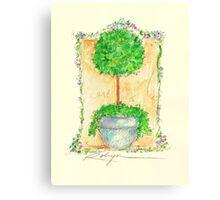 Fleurs Pour Jeanne Canvas Print
