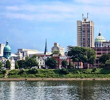 Harrisburg PA Skyline II by Susan Savad