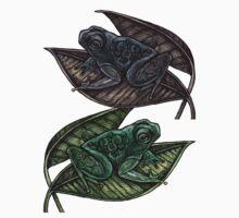 Tree Frogs by Lynnette Shelley