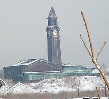 Hoboken Ferry and Train Terminal, New Jersey by lenspiro