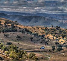 I Love Her Far Horizons - Cockatoo Lookout, On The A Road To Hill End - The HDR Experience by Philip Johnson