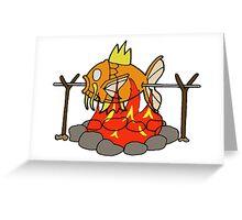 Roasted Magikarp Greeting Card