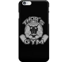 Thor Gym Fitness iPhone Case/Skin