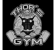 Thor Gym Fitness Photographic Print