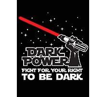 Dark power Photographic Print